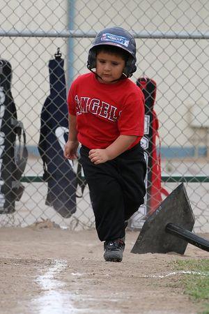 #06 Joshua Garcia, Royals vs. Angels, 2005 Ocean View Pony Baseball, Shetland Division