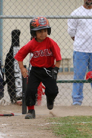 #08 Jacob Vallejo, Royals vs. Angels, 2005 Ocean View Pony Baseball, Shetland Division