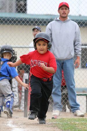 #12 Daniel Bustillos, Royals vs. Angels, 2005 Ocean View Pony Baseball, Shetland Division