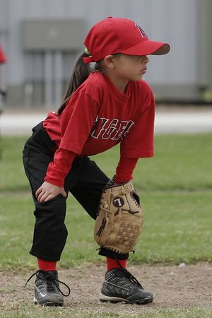 #04 Breanna Loyola, Royals vs. Angels, 2005 Ocean View Pony Baseball, Shetland Division