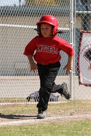 #09 Jesus Rodarte, Angels vs. Tigers, 2005 Ocean View Pony Baseball, Shetland Division