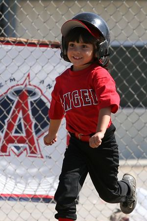 #04 Breanna Loyola, Angels vs. Tigers, 2005 Ocean View Pony Baseball, Shetland Division