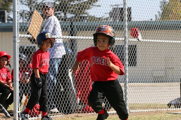 #08 Jacob Vallejo, Angels vs. Tigers, 2005 Ocean View Pony Baseball, Shetland Division
