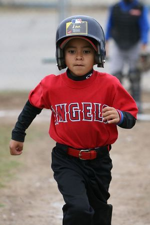 #01 Anthony Cortez, Angels vs. Royals, 2005 Ocean View Pony Baseball, Shetland Division