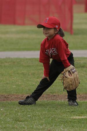 #04 Breanna Loyola, Angels vs. Royals, 2005 Ocean View Pony Baseball, Shetland Division