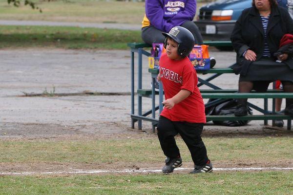 #06 Joshua Garcia, Angels vs. Royals, 2005 Ocean View Pony Baseball, Shetland Division
