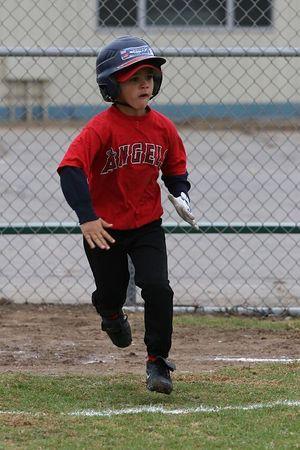 #10 Calvin Nazman, Angels vs. Royals, 2005 Ocean View Pony Baseball, Shetland Division