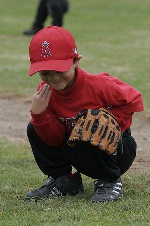 #11 Jaison Quilantang, Angels vs. Royals, 2005 Ocean View Pony Baseball, Shetland Division