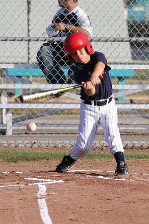 #07 Lorenzo Gonzalez, Braves vs. Cardinals, 2005 Ocean View Pony Baseball, Pinto Division