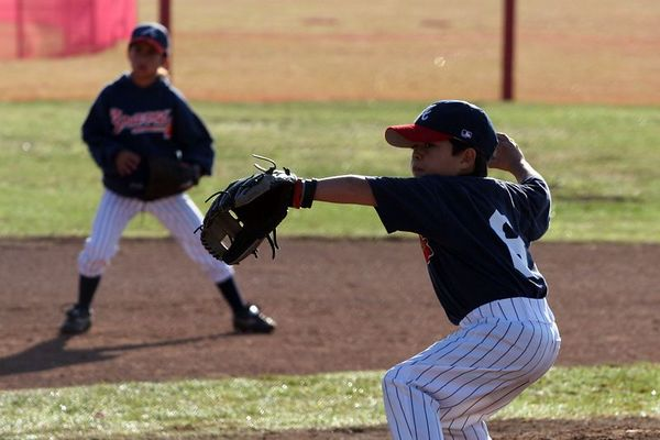 #06 Michael Foster, Braves vs. Cardinals, 2005 Ocean View Pony Baseball, Pinto Division