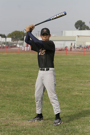 #09 Angel Leaños, Astros, 2005 Ocean View Pony Baseball, Pony Division