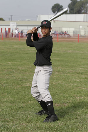#11 J.J. Lujan, Astros, 2005 Ocean View Pony Baseball, Pony Division