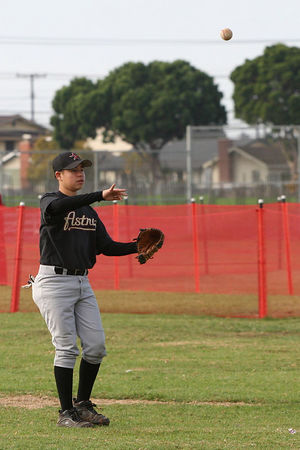 #10 Jorge A. Valadez, Astros vs. Nationals, 2005 Ocean View Pony Baseball, Pony Division