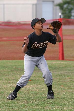 #01 Johnathan Emerick, Astros vs. Nationals, 2005 Ocean View Pony Baseball, Pony Division