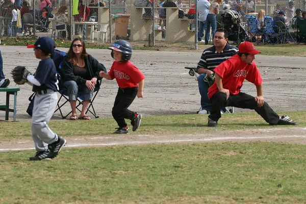 #05 Christopher Kane, Angels vs. Braves, 2005 Ocean View Pony Baseball, Shetland Division