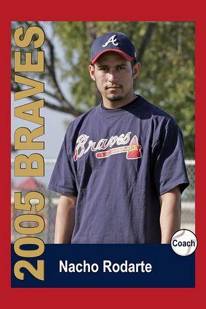 Coach Nacho Rodarte, Braves, 2005 Ocean View Pony Baseball, Pinto Division