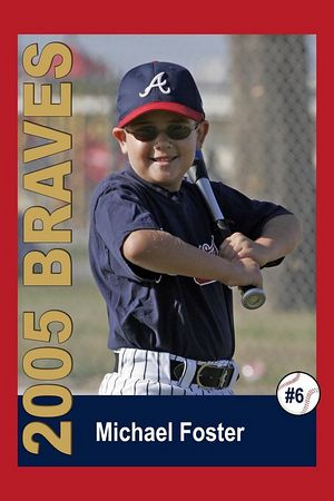 #06 Michael Foster, Braves, 2005 Ocean View Pony Baseball, Pinto Division