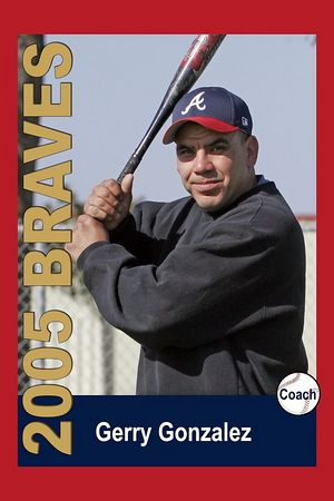 Coach Gerry Gonzalez, Braves, 2005 Ocean View Pony Baseball, Pinto Division