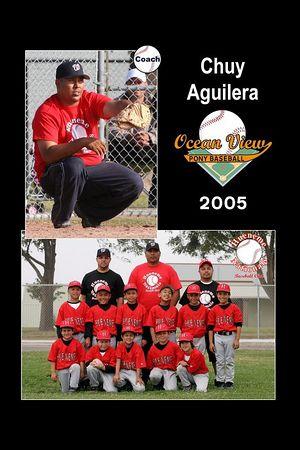 Coach Chuy Aguilera, Hueneme Nationals, Pinto Division, 2005 Ocean View Pony Baseball
