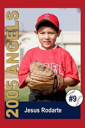 #09 Jesus Rodarte, Ocean View Pony Baseball, 2005 Shetland Angels