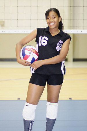 #16 Chondra Ward, 2006 ACEZ 14-1 Volleyball