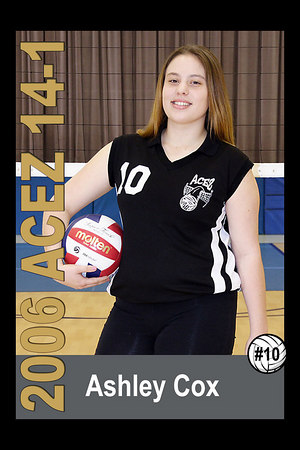 Ashley Cox, 2006 ACEZ 14-1 Volleyball