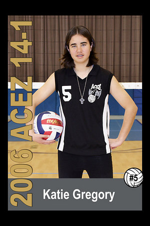 Katie Gregory, 2006 ACEZ 14-1 Volleyball