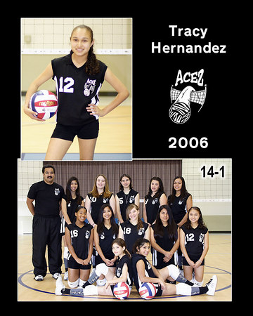 Tracy Hernandez, 2006 ACEZ 14-1 Volleyball