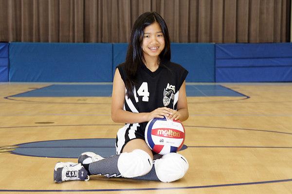 #14 JessiAnne Dejarme, 2006 ACEZ 14-2 Volleyball