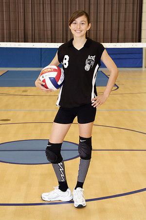 #08 Natalie Woodward, 2006 ACEZ 14-2 Volleyball