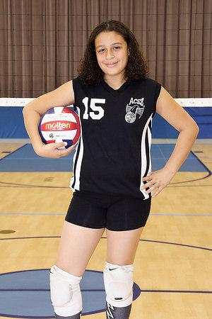 #15 Alysha Rivera, 2006 ACEZ 14-2 Volleyball