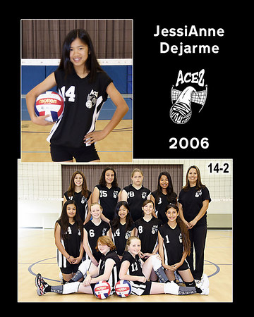 #14 JessiAnne Dejarme, 2006 ACEZ 14-2 Volleyball