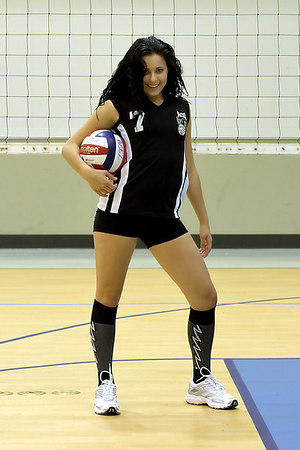 #07 Heather Stevens. 2006 ACEZ 16-1 Volleyball