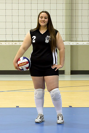 #02 Heather Davis. 2006 ACEZ 16-1 Volleyball