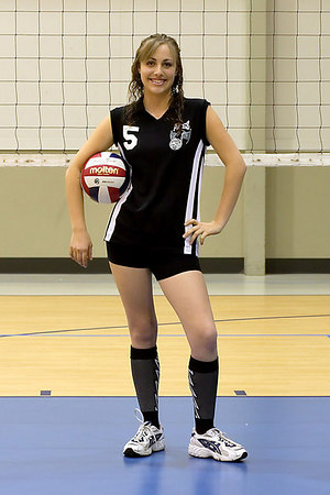 #05 Lizzy Burdick. 2006 ACEZ 16-1 Volleyball