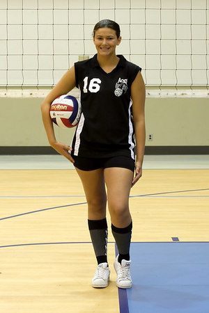 #16 Heather Bell. 2006 ACEZ 16-2 Volleyball