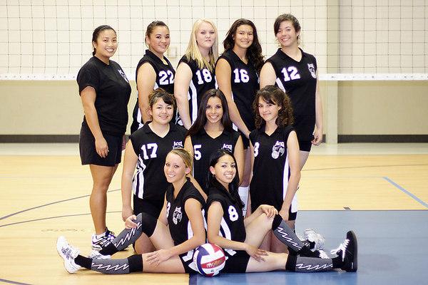 2006 ACEZ 16-2 Team Photo. #05 Chloé Lavis, #08 Dionicia Nava, #12 Sarah Kaufmann, #13 Leeya Zeider, #16 Heather Bell, #17 Kaila Muro, #18 Hayley Davis, #22 Nicole Jetton and Coach Kathy DeVera.