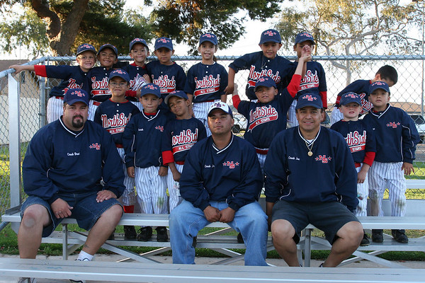 American Tee Ball Team Photos