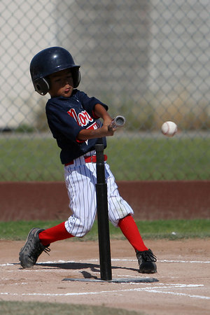 American Tee Ball vs National (8 Jul)