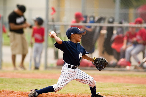 Pinto North Side Yankees vs. Angels, 2006 Ocean View Pony Baseball, Pinto Division.