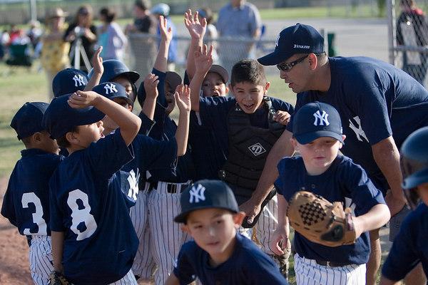 Pinto North Side Yankees vs. Tigers, 2006 Ocean View Pony Baseball, Pinto Division.