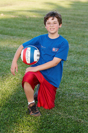 Zandler Chavez. US Youth Volleyball League.