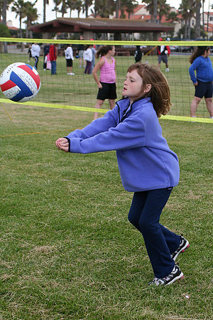 Sydney Kane. Red Robins, US Youth Volleyball League practice.