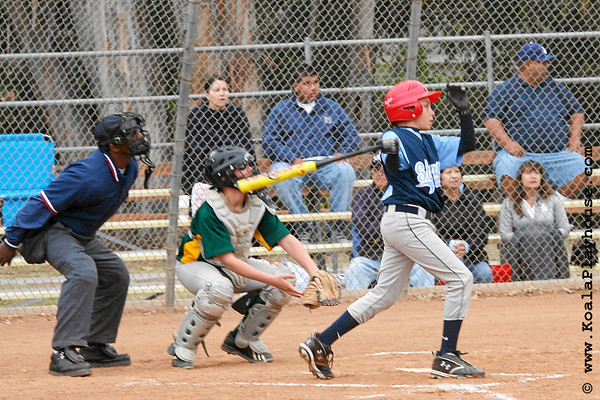 11U Canyon Coyotes vs Oxnard Sharks. 2007 Ventura Pirates 4th Annual Memorial Weekend Tournament.