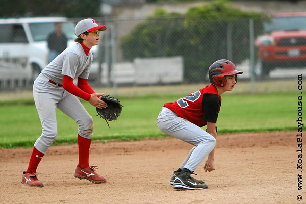 14U Danville Diablo Black vs Santa Clarita Sharks. 2007 Ventura Pirates 4th Annual Memorial Weekend Tournament.