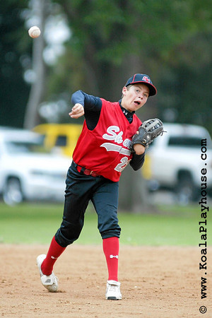 14U Santa Clarita Sharks 13 vs. Ocean View Dodgers. 2007 Ventura Pirates 4th Annual Memorial Weekend Tournament.