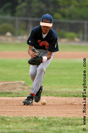 14U Santa Clarita Sharks vs. O'Keiki Warriors. 2007 Ventura Pirates 4th Annual Memorial Weekend Tournament.