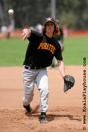 14U Ventura Pirates vs. Ocean View Dodgers. 2007 Ventura Pirates 4th Annual Memorial Weekend Tournament.