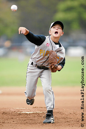 09U Ventura Pirates vs Outlaws. 2007 Ventura Pirates 4th Annual Memorial Weekend Tournament.