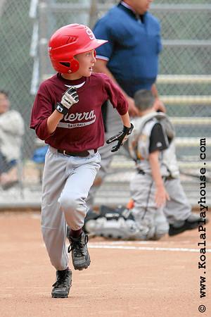 09U Ventura Pirates vs Sierra. 2007 Ventura Pirates 4th Annual Memorial Weekend Tournament.
